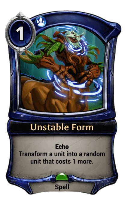 Card image for Unstable Form