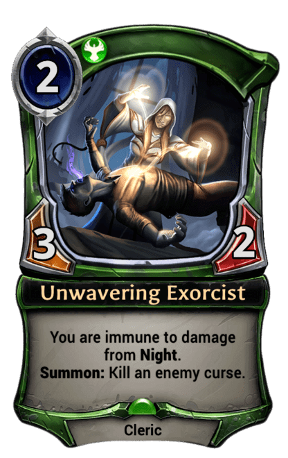 Card image for Unwavering Exorcist