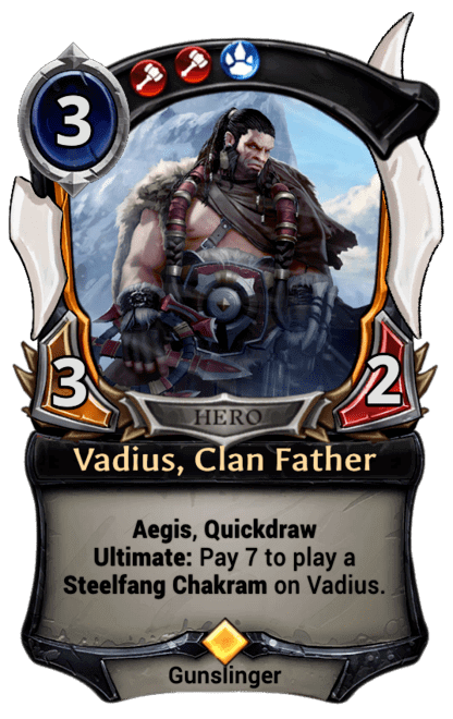 Card image for Vadius, Clan Father