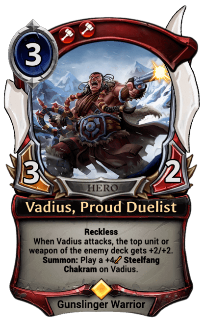 Card image for Vadius, Proud Duelist
