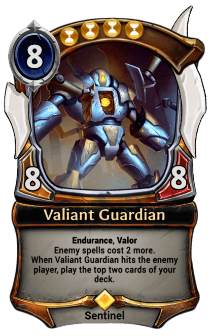 Card image for Valiant Guardian