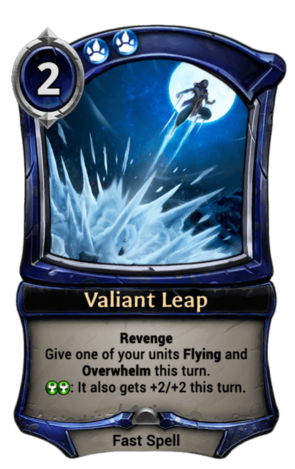 Card image for Valiant Leap
