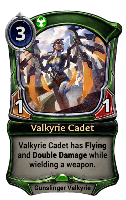 Card image for Valkyrie Cadet