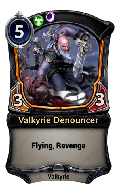 Card image for Valkyrie Denouncer