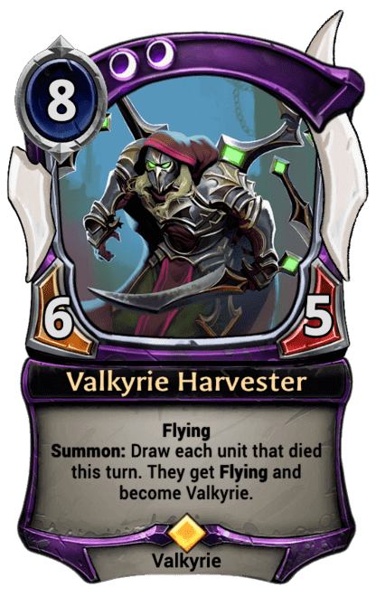Card image for Valkyrie Harvester