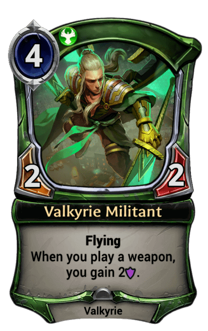 Card image for Valkyrie Militant