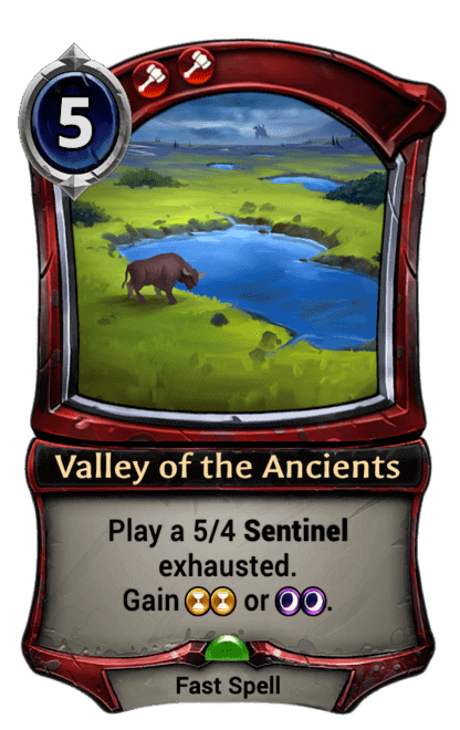 Card image for Valley of the Ancients