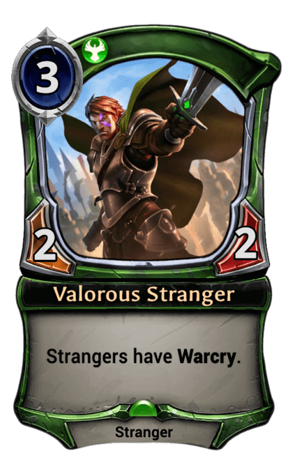 Card image for Valorous Stranger