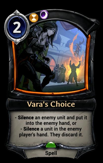 Card image for Vara's Choice