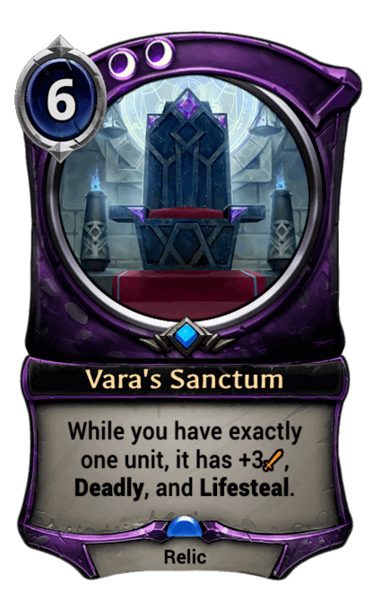 Card image for Vara's Sanctum
