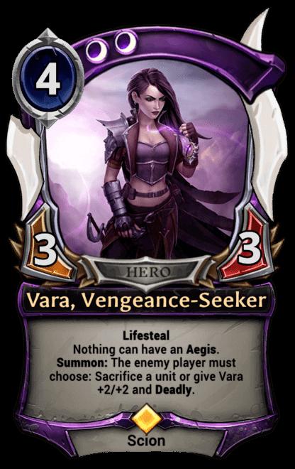 Card image for Vara, Vengeance-Seeker