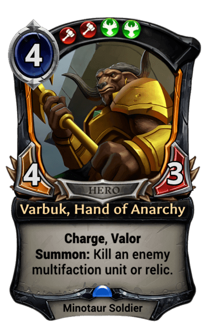 Card image for Varbuk, Hand of Anarchy