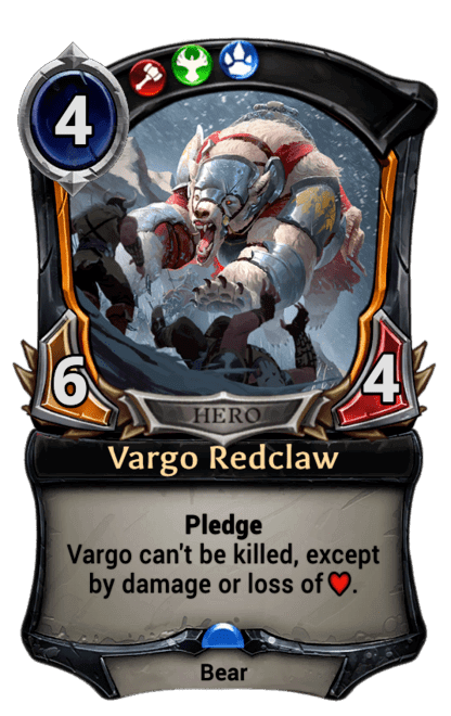 Card image for Vargo Redclaw