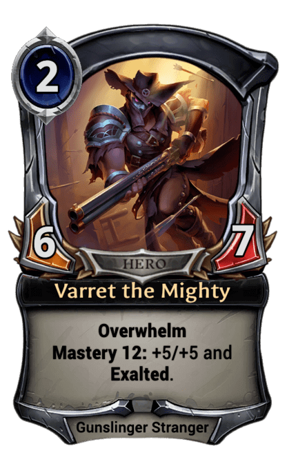 Card image for Varret the Mighty