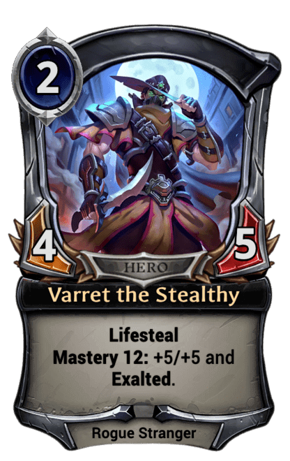 Card image for Varret the Stealthy