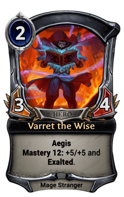 Card image for Varret the Wise