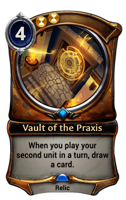 Card image for Vault of the Praxis