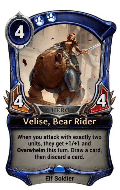 Card image for Velise, Bear Rider
