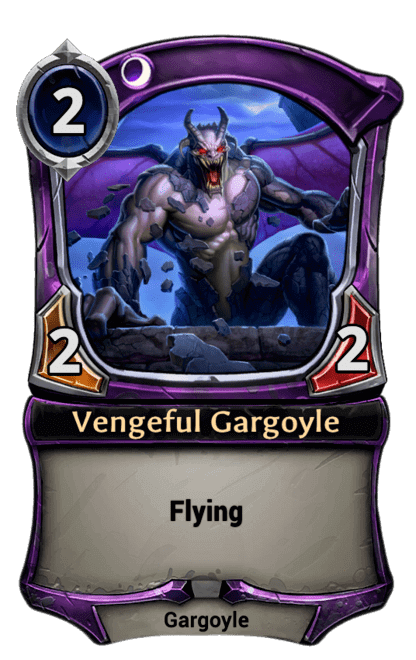 Card image for Vengeful Gargoyle