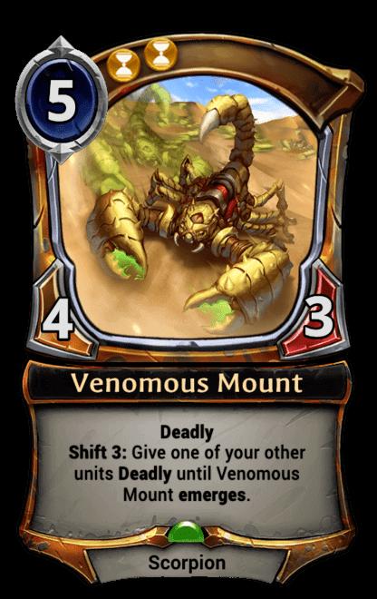 Card image for Venomous Mount
