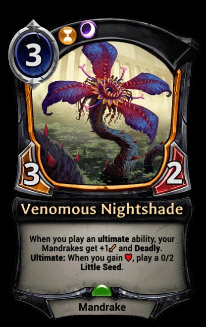 Card image for Venomous Nightshade