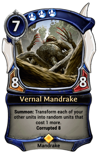 Card image for Vernal Mandrake