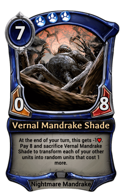 Card image for Vernal Mandrake Shade