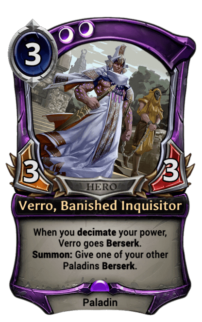 Card image for Verro, Banished Inquisitor