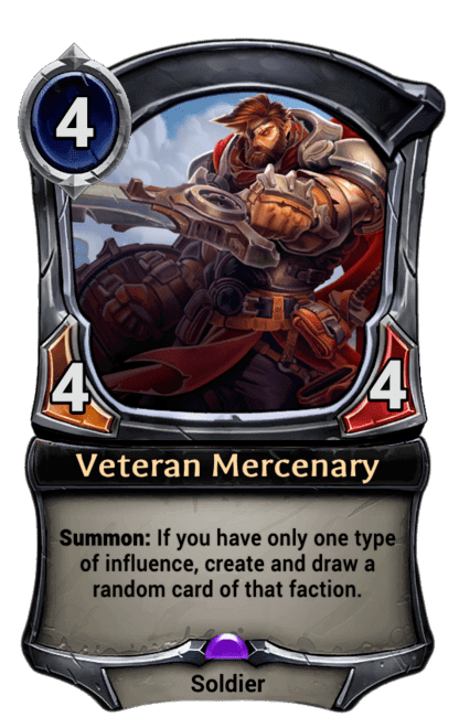 Card image for Veteran Mercenary
