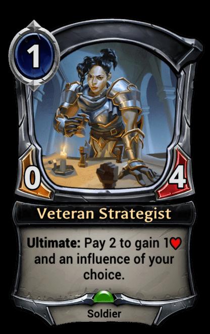Card image for Veteran Strategist