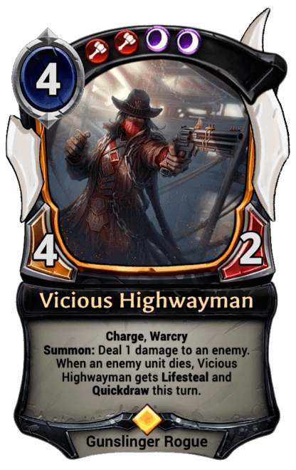 Card image for Vicious Highwayman