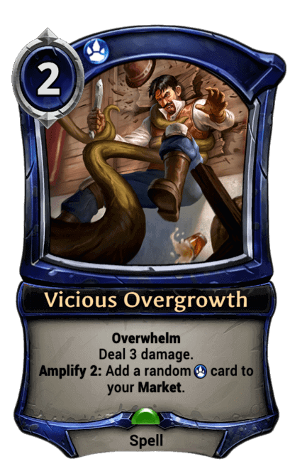 Card image for Vicious Overgrowth