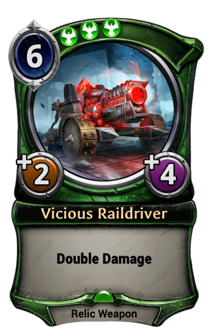 Card image for Vicious Raildriver