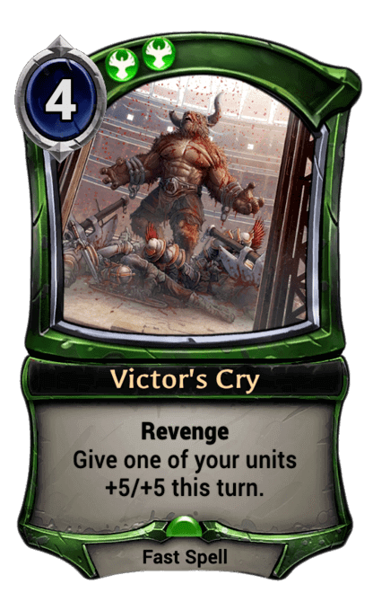 Card image for Victor's Cry
