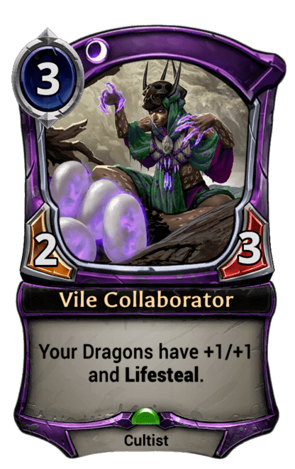 Card image for Vile Collaborator