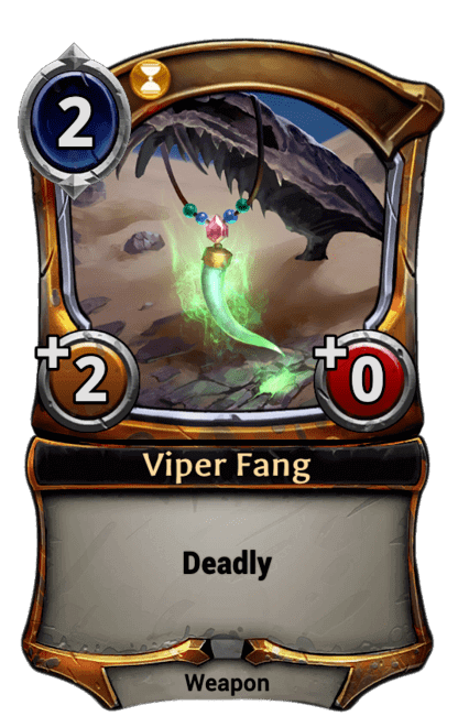 Card image for Viper Fang