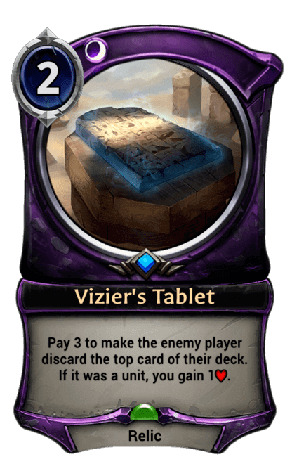 Card image for Vizier's Tablet