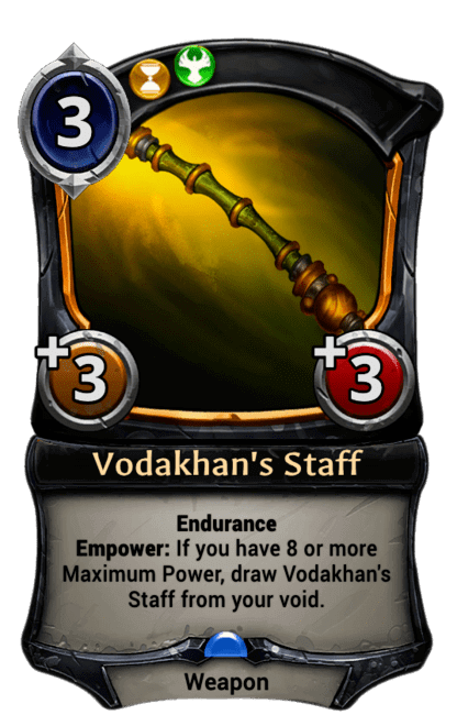 Card image for Vodakhan's Staff