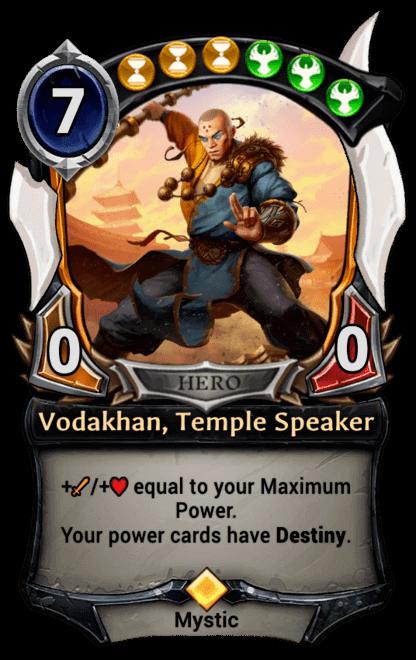 Card image for Vodakhan, Temple Speaker