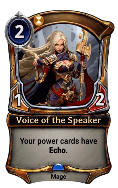 Card image for Voice of the Speaker