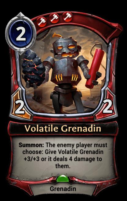 Card image for Volatile Grenadin