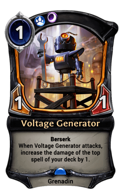 Card image for Voltage Generator