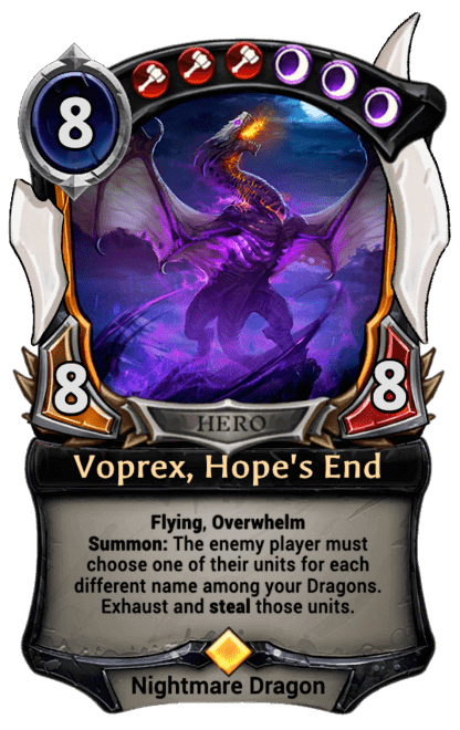 Card image for Voprex, Hope's End