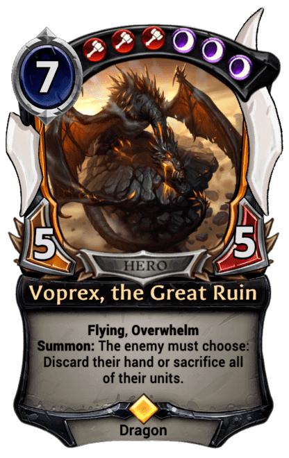 Card image for Voprex, the Great Ruin