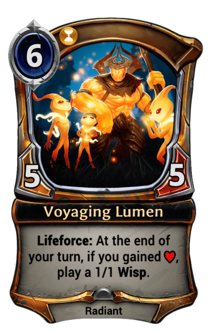 Card image for Voyaging Lumen