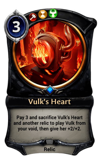 Card image for Vulk's Heart
