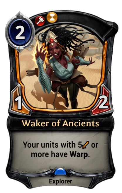 Card image for Waker of Ancients