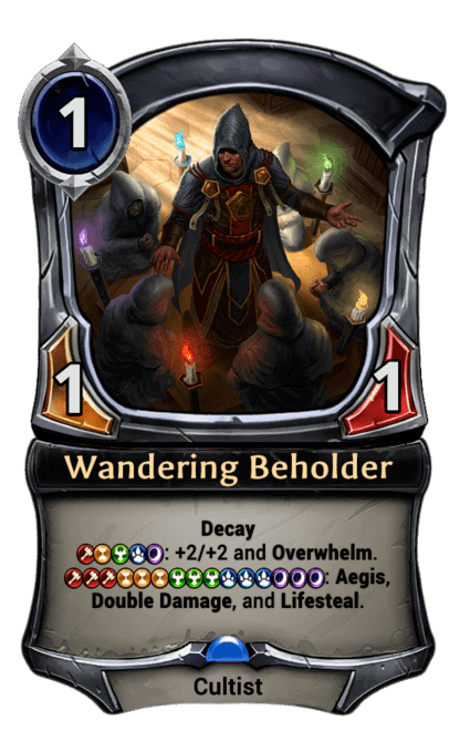 Card image for Wandering Beholder