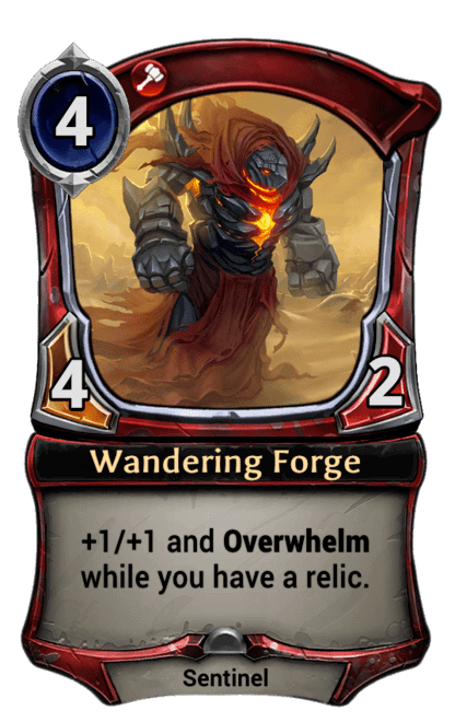 Card image for Wandering Forge