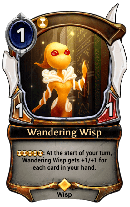 Card image for Wandering Wisp